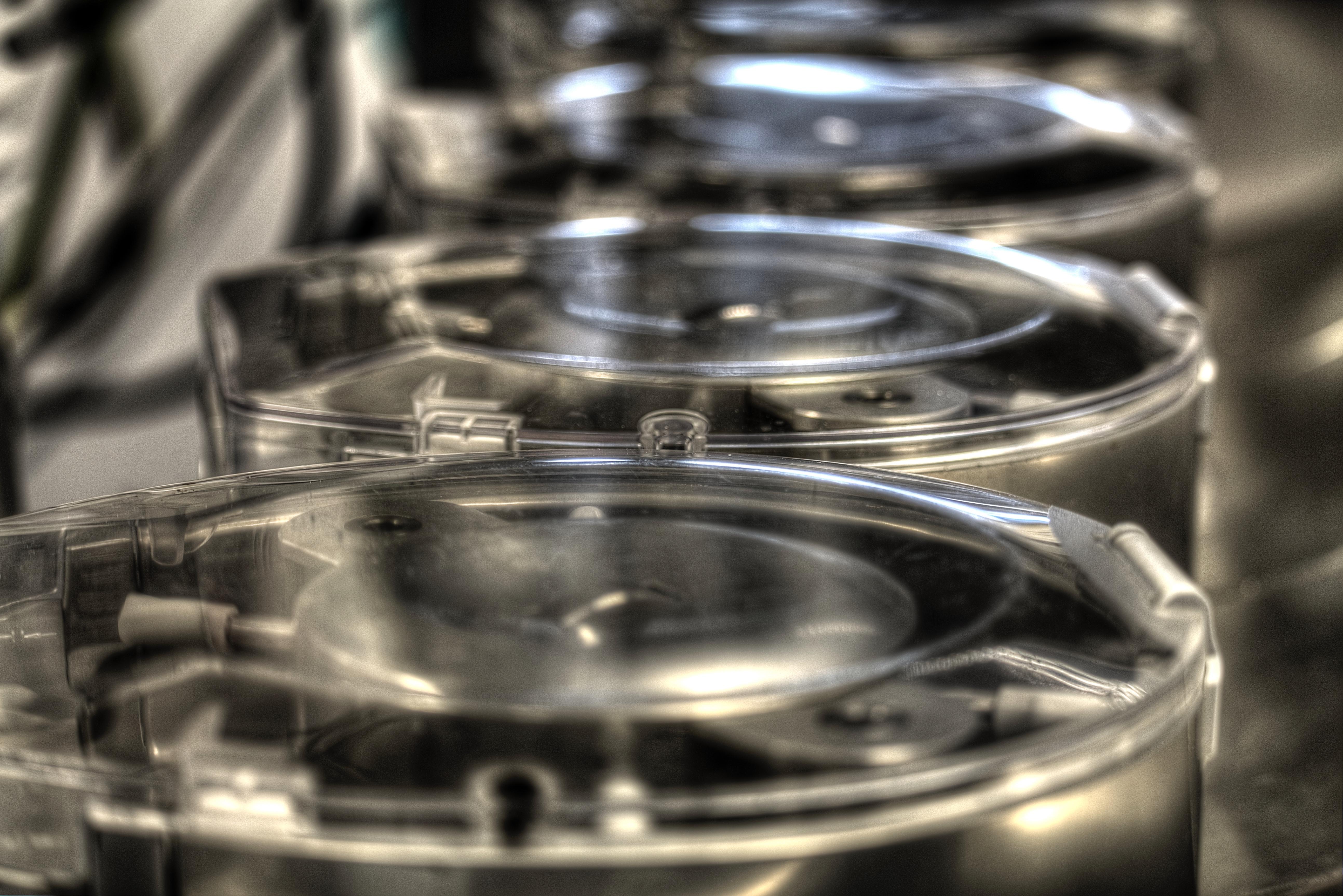 Webfoto - Hart-longmachine rollerpompen