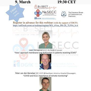 1e internationale Webinar – BelSECT – DGFK en NeSECC, 9 maart 2021